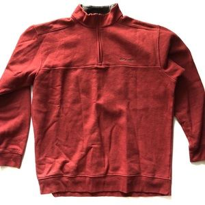 Columbia Fleece full zip up Jacket Red size XL Men